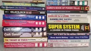 Poker and other gambling books