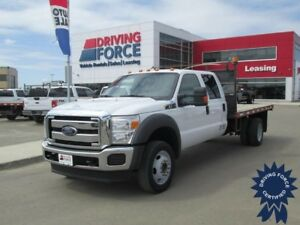 2015 Ford Super Duty F-550 XLT Crew Cab 4x4 - 62,024 KMs, 6.8L