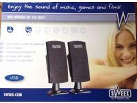USB Speaker Set 120 Watt