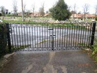 Garden Gates, heavy metal double gates