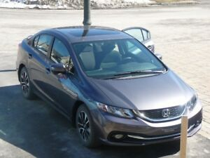 CIVIC EX 2015 URGENT!!!!! LOCATION AVEC OPTION DE RACHAT!!