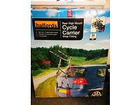 Halfords Rear High Mount 3 Cycle Carrier Bike Rack