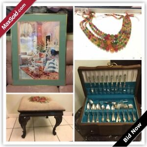 North York Downsizing Online Auction - Finch Avenue West(Aug1)