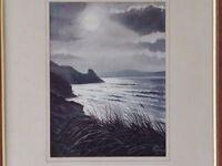 Original watercolour painting by Pembrokeshire artist Alun Davies