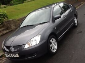 2005 MITSUBISHI LANCER EQUIPPE 1.6 SALOON WITY LOW MILEAGE