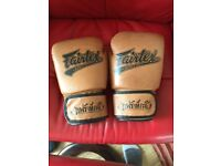 Fairtex 14oz thai boxing gloves - LIMITED EDITION COLOUR!