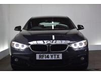 BMW 4 SERIES 2.0 420D M SPORT GRAN COUPE [PRO MEDIA] 4d AUTO 18 (black) 2014