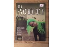 Used AQA AS level Psychology: year one and AS textbook