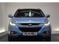 HYUNDAI IX35 2.0 CRDI PREMIUM PANORAMA [NAV] 5d AUTO 134 BHP (blue) 2014