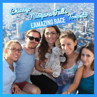 L'Amazing Race – Amazing travel from Montreal to Chicago