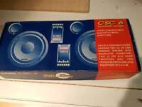 Caliber component speakers