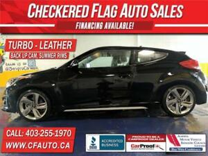 2014 Hyundai Veloster TURBO-NAVI-S.ROOF-LTHR-AUTOMATIC