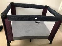 M&P travel cot and mattress