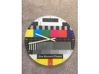 Retro style clock