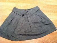 Grey skirt size XS
