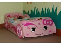 Pink Car Bed!