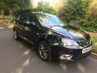 64 PLATE SEAT IBIZA I-TECH BLACK 1.2 TSI CAT D 14,000 MILES ONLY IMMACULATE CONDITION