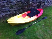 Single sit on Kayak.