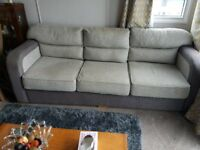3 seater sofa bed , plus 2