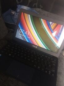 Asus laptop in navy