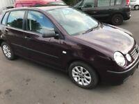 Volkswagen Polo s 2003, Petrol , 5 door, drives well , long mot, Alloy Wheels , CD, EW, CL,