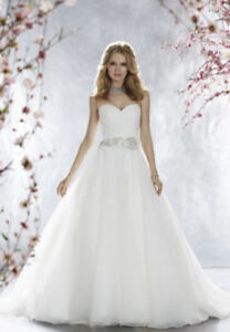 Madison Collection Princess Wedding Gown Size 10