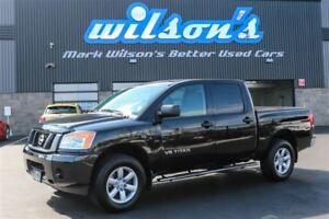 2015 Nissan Titan S 5.6L V8 4X4! CREW CAB! POWER PACKAGE! ALLOYS
