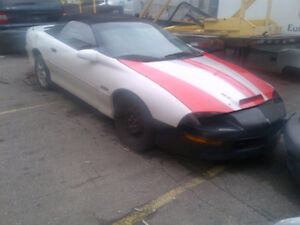 GREAT DEAL ON 1997 CAMARO CONVERTIBLE PROJECT