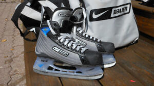Full Bag of Hockey Equipment + New Skates