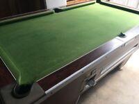 SUPER LEAGUE 7ft x 4ft Pool Table.