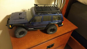 SCX10-2 Kit Rolling Chassis with Savox Servo