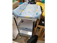 Baby changing station and bath