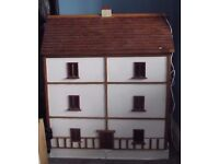 3 storey Dolls House with electric lights
