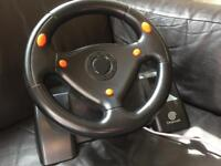 Official dreamcast steering wheel
