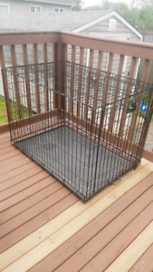 Large dog kennel 60$ firm