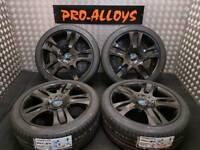 "18"" FORD ST ALLOY WHEELS AND NEW TYRES *REFURBISHED* 5x108 MONDEO ST CONNECT VAN"