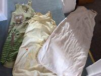 BABY SLEEPING BAGS X3