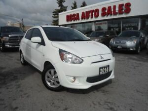 2014 Mitsubishi Mirage 4dr HB AUTO CVTALLOY A/C SAFETY 10 YEARSF