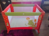 Travel cot...mama's and papas travel cot....only used twice, very good condition!