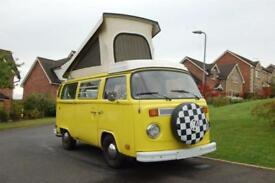 Volkswagen T2 Late Bay 4 berth Campervan for sale