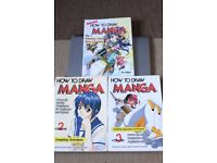 How to draw Manga, lot 1