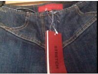 French connection stretch bootcut jeans size 10 NEW