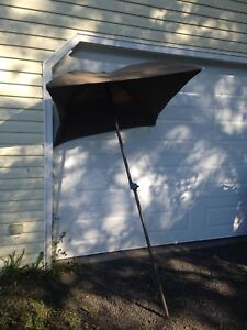 Fold up beach umbrella