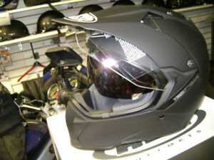 Suomy MX Tourer Matte Black Helmet Medium Small Extra Small