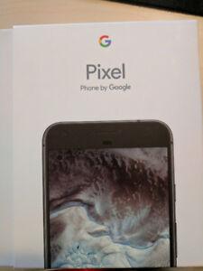 Google Pixel XL 32gb in Quite Black - new