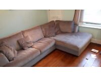 Sofa 'L' shaped. Great condition. £400