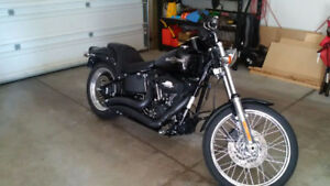 Mint 2007 FXSTB with Low Miles