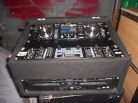 Twin CD players and mixer PRICE REDUCED
