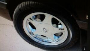 looking for fox body style chrome pony rims