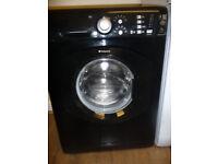 Hotpoint Aquarius Washing Machine in Black - 7 KG - 1400 RPM - New